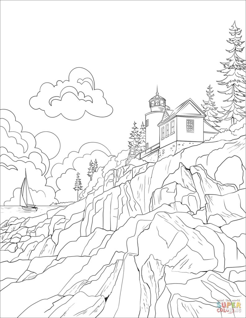 18 Free Printable Travel Coloring Book Pages while we're stuck at ...